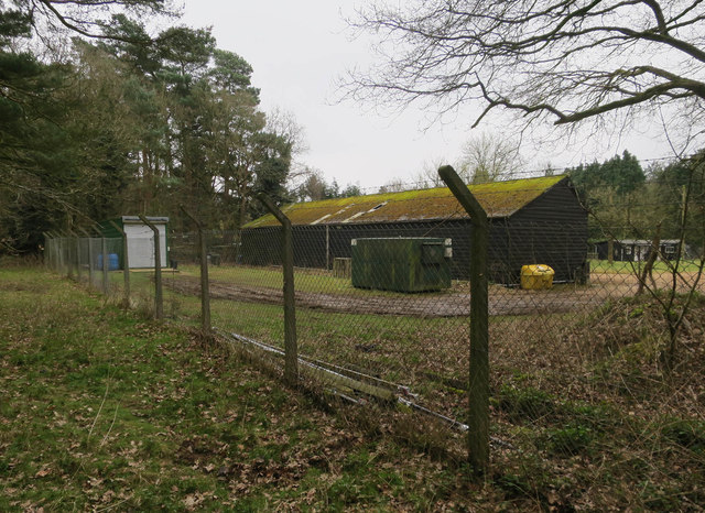 Forestry Commission compound, Shakers Wood