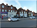 SP0979 : Shops on Ravenshill Road in Yardley Wood by Richard Law