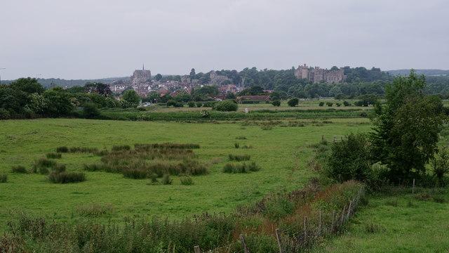 View towards Arundel