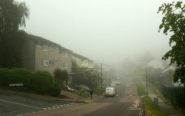 Fog on Queensway