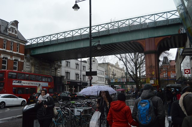 Railway Bridge, Brixton Rd