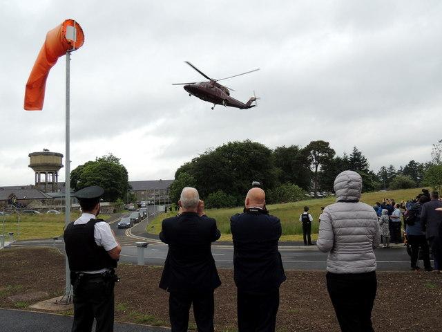 Royal visit, Omagh New Hospital (1)