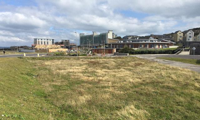 Mixed development near Osprey Quay, Portland