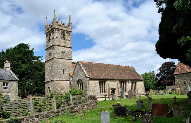 Church of St Margaret of Antioch, Yatton Keynell, Wiltshire 2016