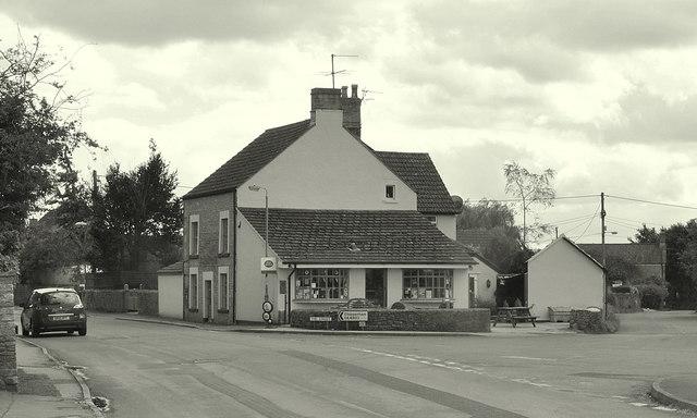Village Shop & Post Office, Yatton Keynell, Wiltshire 2016