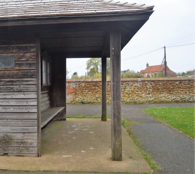 Bus shelter, Ingoldisthorpe