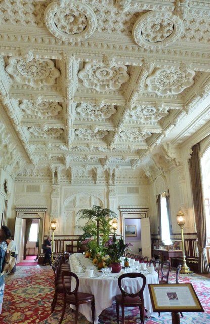 The State Dining Room, Osborne House, Isle of Wight
