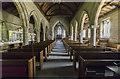 TA0067 : Interior, St Peter's church, Langtoft by J.Hannan