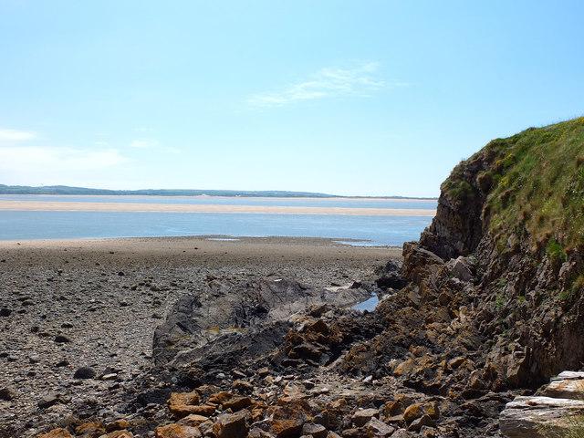 Coastal Erosion at Hodbarrow Point