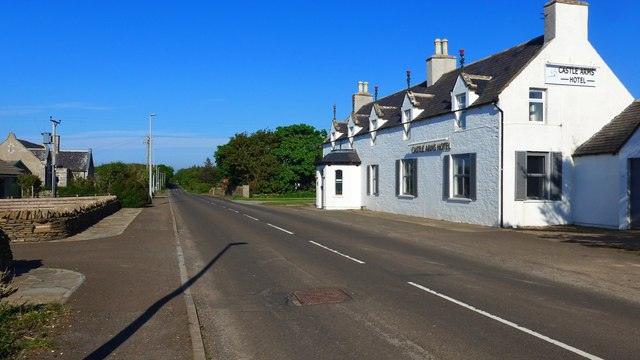 The Castle Arms Hotel in Mey