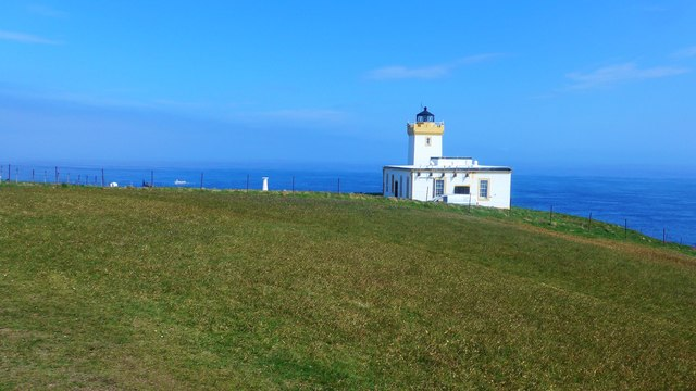 The lighthouse at Duncansby Head