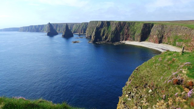 Thirle Door and the Stacks of Duncansby