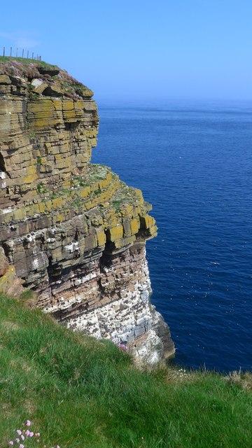 Cliff near the Geo of Sclaites