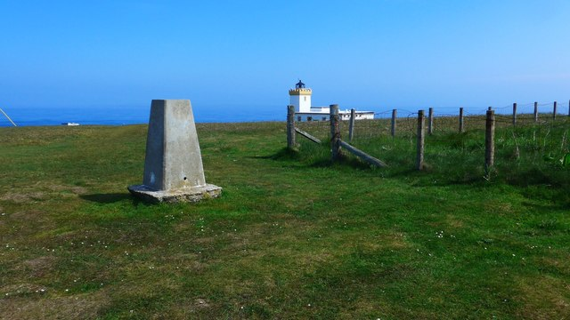 Trig point at Duncansby Head