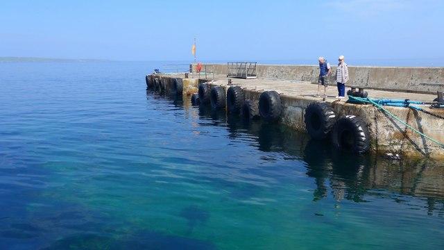 The pier at John O' Groats