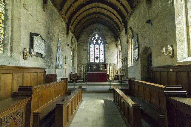 Chancel, St Peter's church, Langtoft