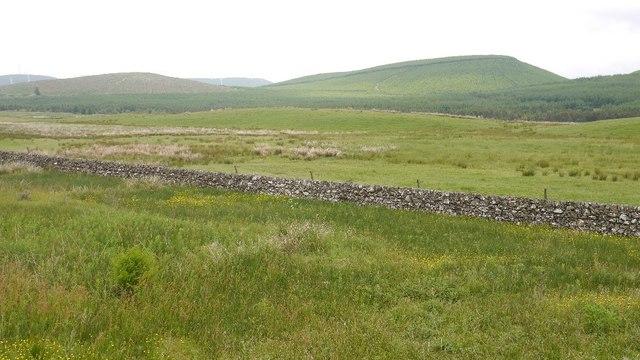 View towards Comb Rig