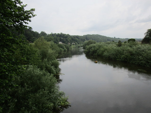 The River Wye above Hoarwithy Bridge