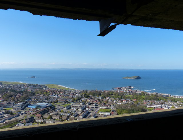 View from the lookout on North Berwick Law