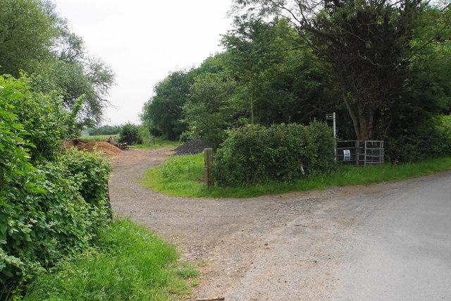 Footpath near Elmstone Hardwicke