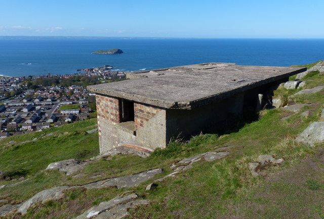 Lookout on North Berwick Law