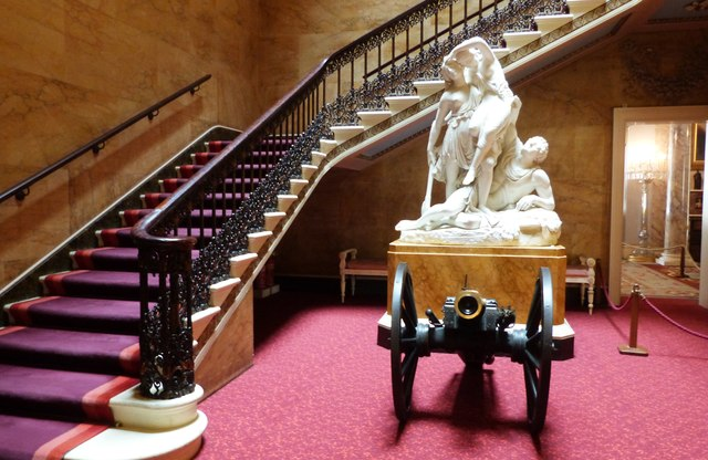 The Grand Staircase, Osborne House, Isle of Wight