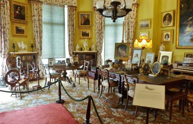Queen Victoria's private sitting room, Osborne House, Isle of Wight