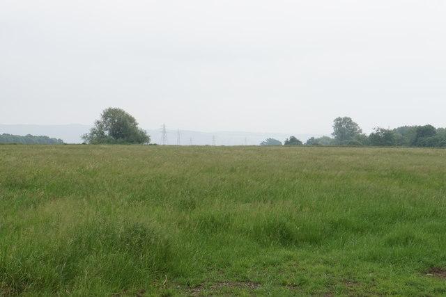 Fallow field near Uckington