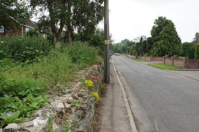 The road from Elmstone Hardwicke