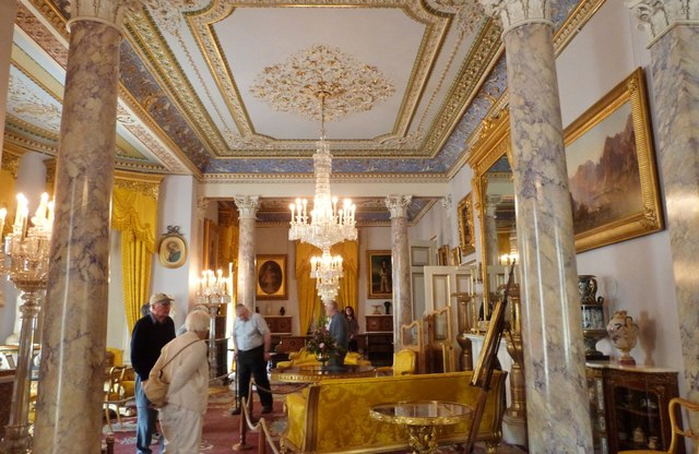 Interior of Osborne House, Isle of Wight