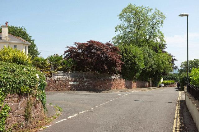 Junction on Seaway Lane, Torquay