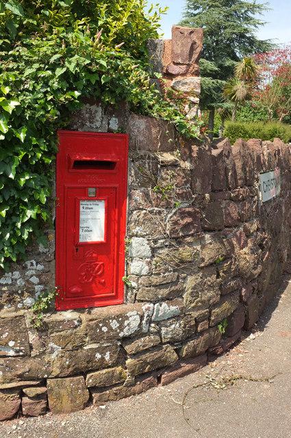 Postbox, Chelston Road, Torquay