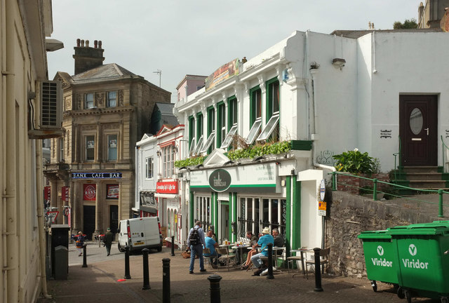 Lower part of The Terrace, Torquay