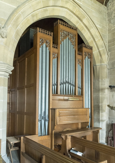 Organ, St Peter's church, Langtoft
