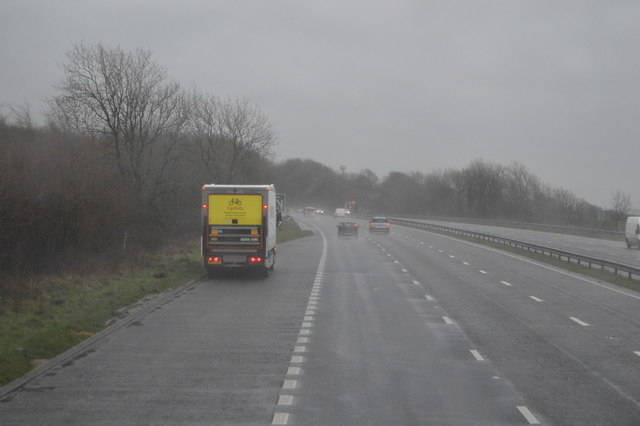 Layby, A38, eastbound
