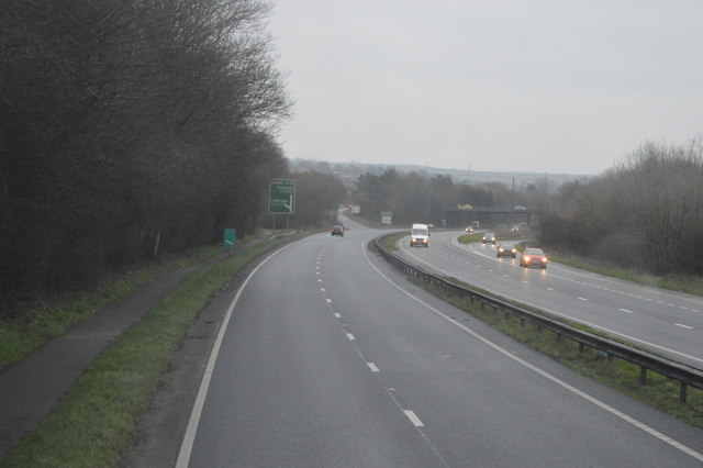A38 approaching Ivybridge