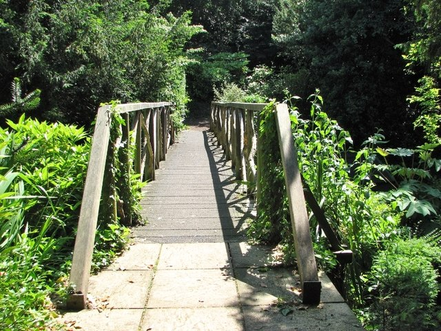 The Plantation Garden - wooden bridge