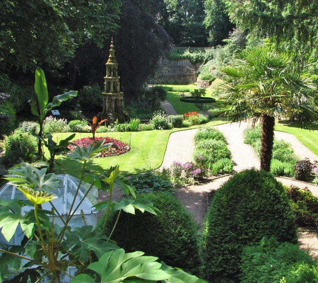 The Plantation Garden - view from the bridge