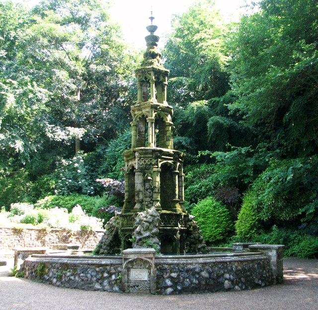The Plantation Garden - the fountain