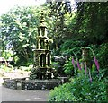 TG2208 : The Plantation Garden - the fountain by Evelyn Simak