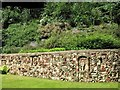 TG2208 : The Plantation Garden - retaining wall by Evelyn Simak