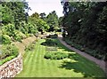 TG2208 : The Plantation Garden - seen from the Italianate terraces by Evelyn Simak