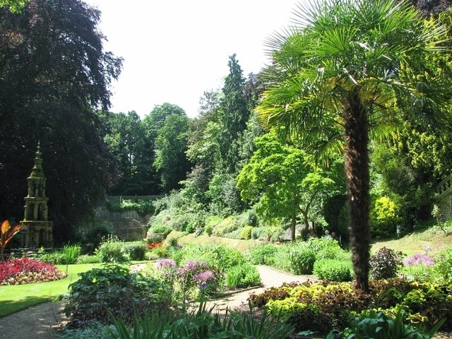 View across the Plantation Garden