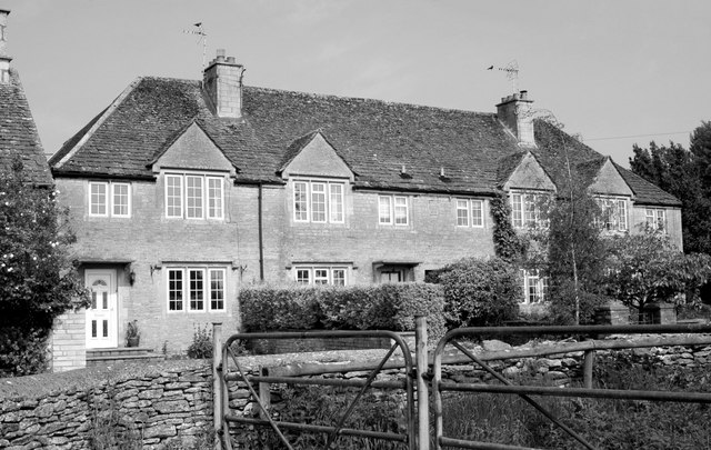 Houses, The Street, Sopworth, Wiltshire 2012