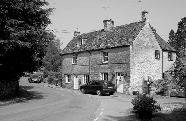 Houses, The Street, Sopworth, Wiltshire 2012