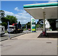 ST3091 : June 14th 2018 BP fuel prices, Malpas, Newport by Jaggery