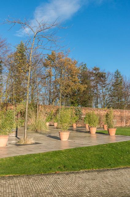 Pavilion patio, The Alnwick Garden