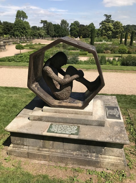 The '50p piece' at Trentham Gardens
