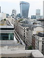 """TQ3281 : Cheapside and the """"Walkie Talkie"""" from One Wood Street by David Hawgood"""