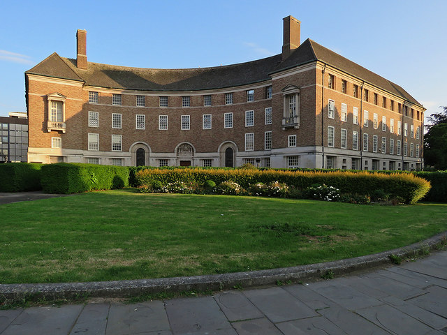 Taunton: Somerset County Hall